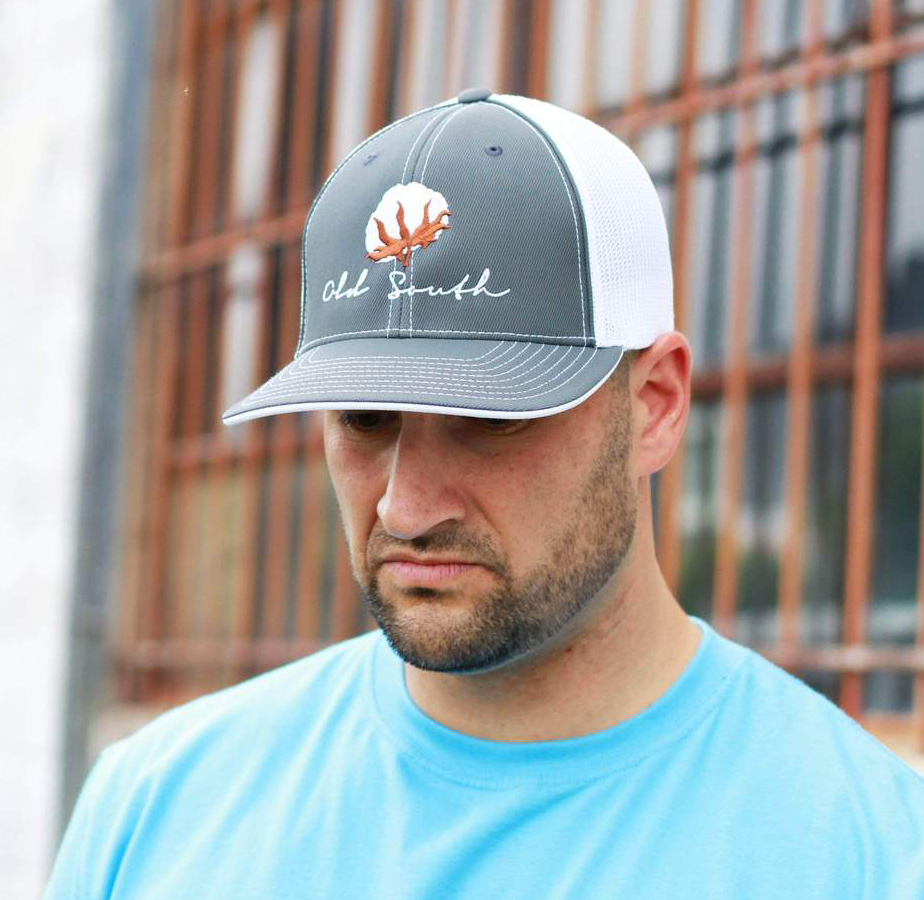 Cotton Flex Fit Trucker Graphic S/M
