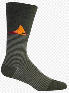 FORT FISHER SOCK DARK GREY