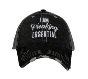 I AM FREAKING ESSENTIAL HAT