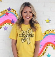 BEE COURAGEOUS TEE