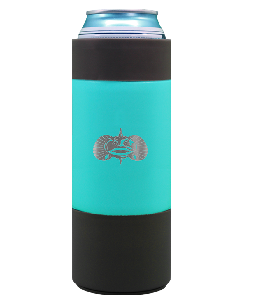 NON-TIP SLIM CAN COOLER TEAL