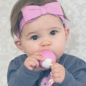 The Teething Egg - Soft Gray