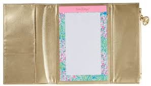 NOTEPAD FOLIO GOLD