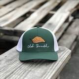 Tobacco Trucker Forest Green/White