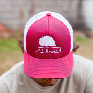 Shade Tree Trucker Cardinal/White