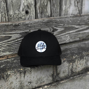 Windmill Patch Trucker Black/Black