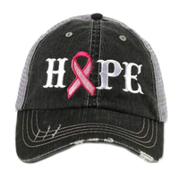 Hope Pink Ribbon Trucker Hat