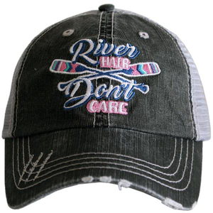 River Hair Paddles Trucker