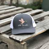 Mallard Trucker Hat Graphite/White