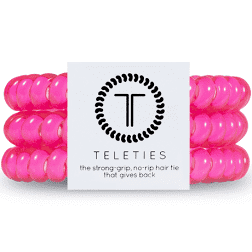 Hot Pink Small Teleties