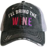 I'll Bring the Wine Grey Hat