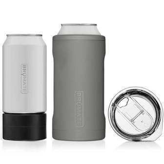 3-IN-1 CAN-COOLER MATTE GRAY