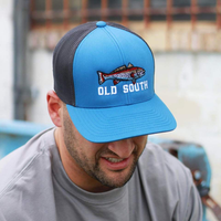 Red Fish Trucker Ocean Blue/Charcoal