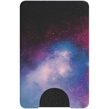 Blue Galaxy Pop Wallet