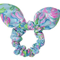 HAIR SCRUNCHIE AQUA LA VISTA