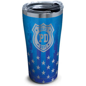 POLICE 30 OZ STAINLESS