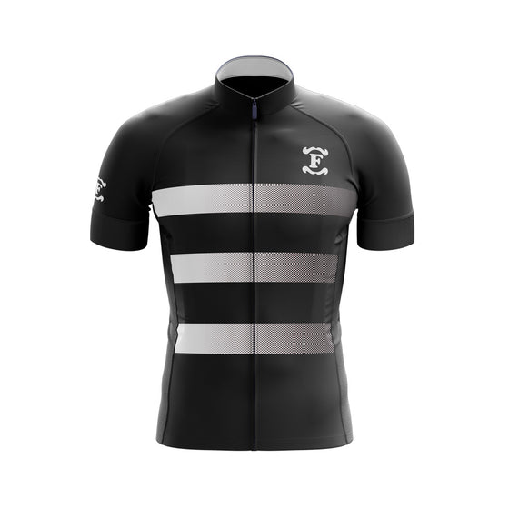 Fred's Cycle Jersey, Black and White