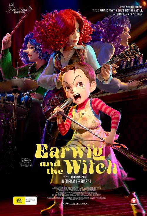 Earwig and the Witch (Studio Ghibli) Movie