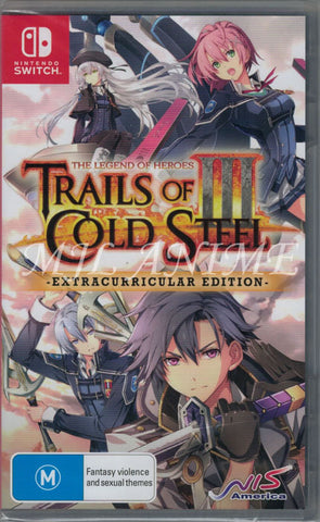 The Legend of Heroes: Trails of Cold Steel III [Extracurricular Edition] Nintendo Switch