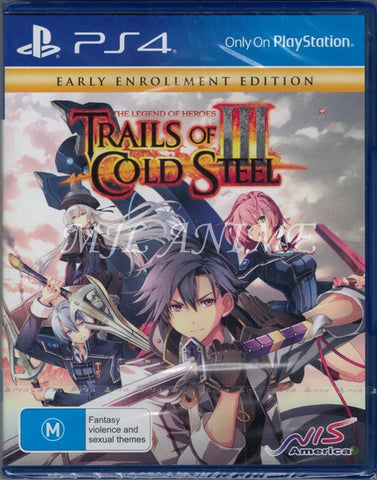 The Legend of Heroes: Trails of Cold Steel III [Early Enrollment Edition] PS4