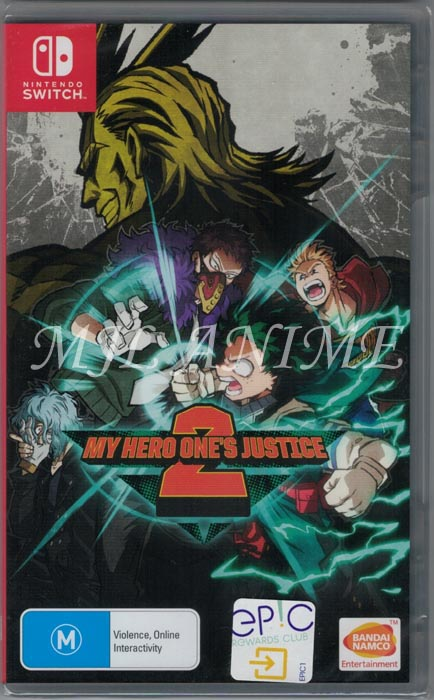 My Hero One's Justice 2 Nintendo Switch