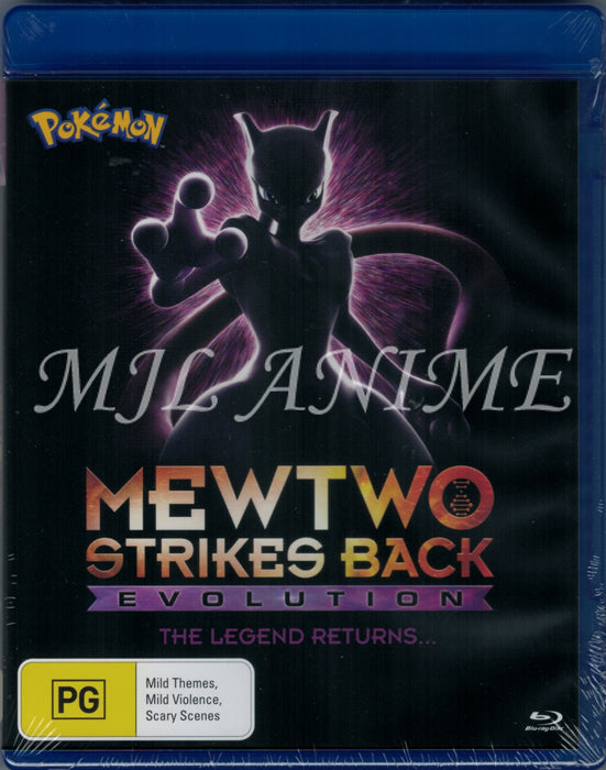 POKEMON Movie 22: Mewtwo Strikes Back - Evolution (Blu-Ray)