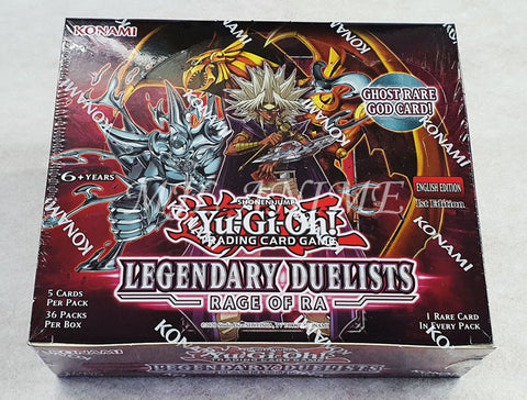 Yu-Gi-Oh! Legendary Duelist: Rage of Ra Booster Box [SEALED]