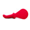 Fun Factory Buck Dich Silicone Spanker and Dildo Red 5.5 Inch - image 1