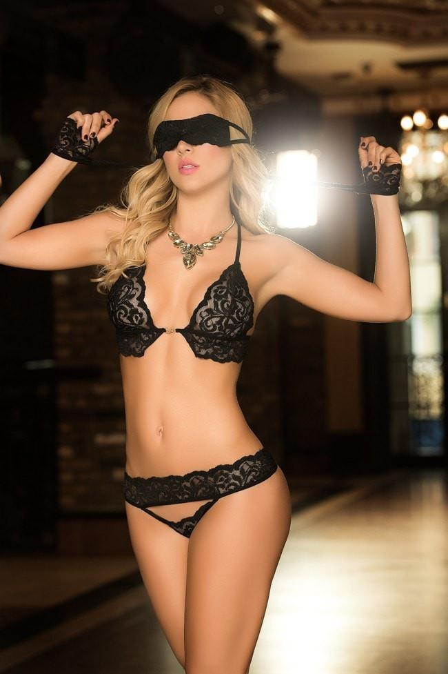 Mapale 4 Piece set with blindfold