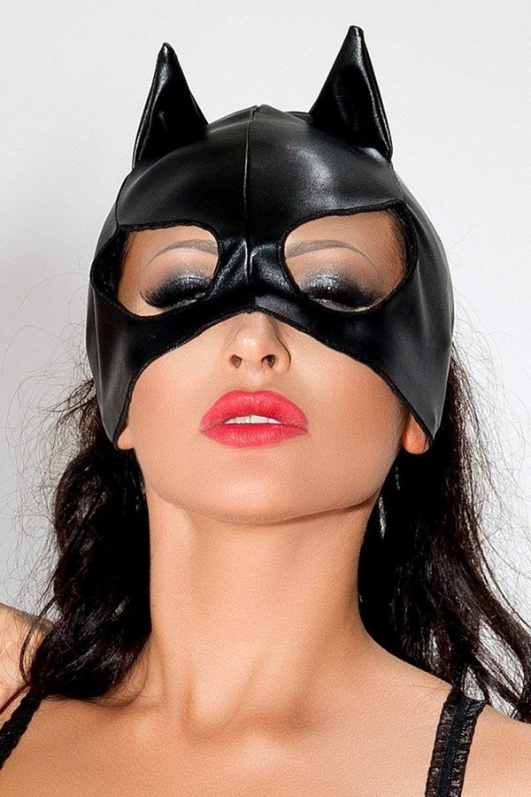 Me Seduce MK02 One Size Black Cat Mask