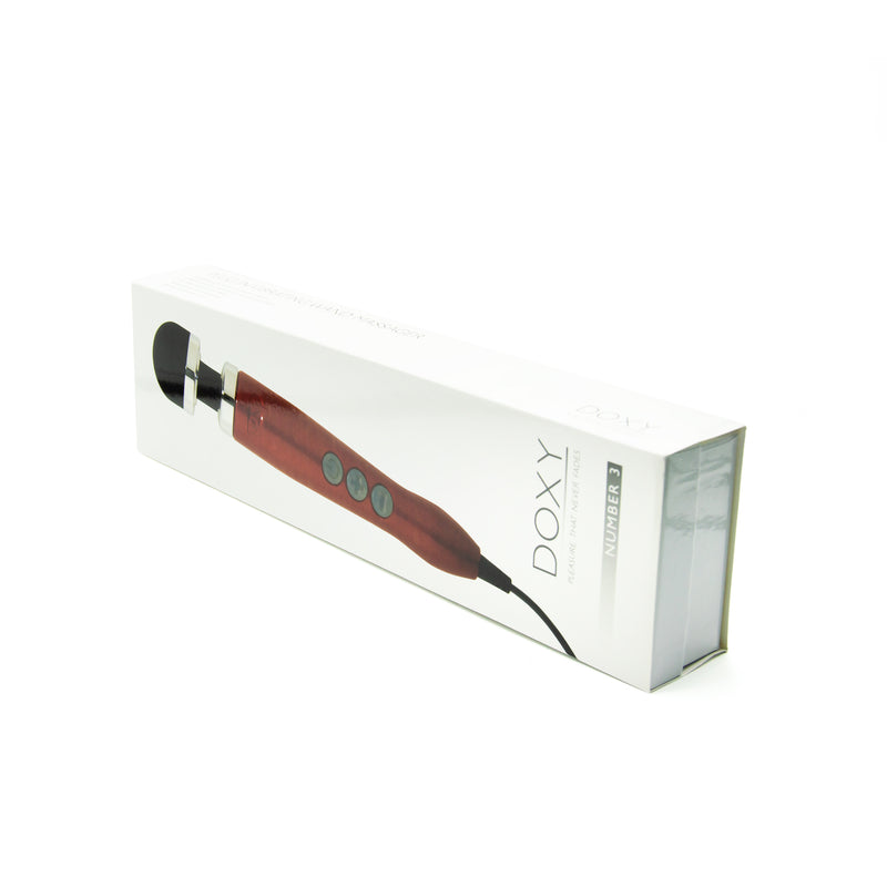Super Powerful Doxy Number 3 Wand Massager Candy Red - image 5