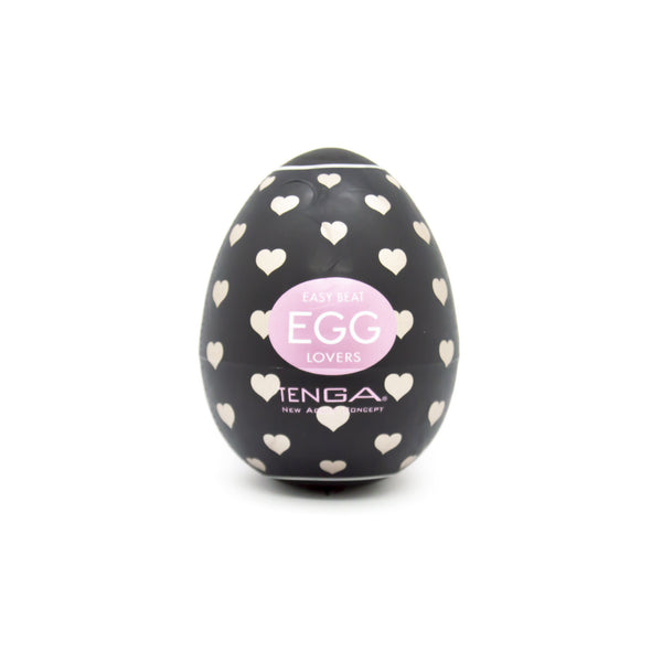 Tenga Heart Textured Love Egg Masturbator - image 1