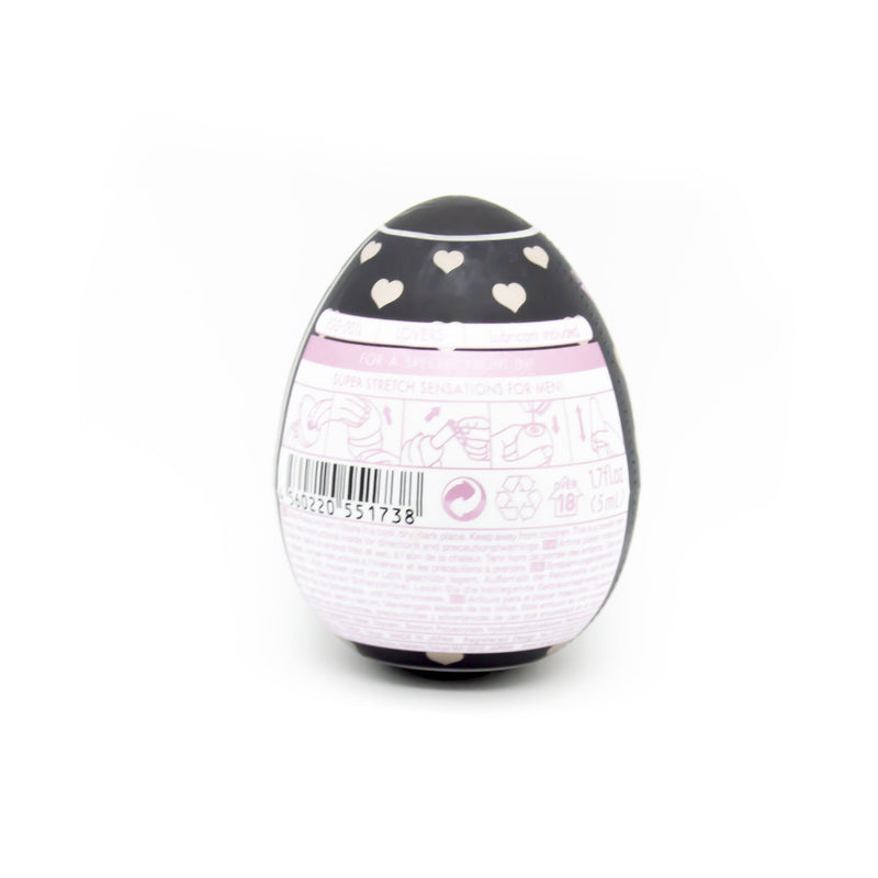 Tenga Heart Textured Love Egg Masturbator - image 3