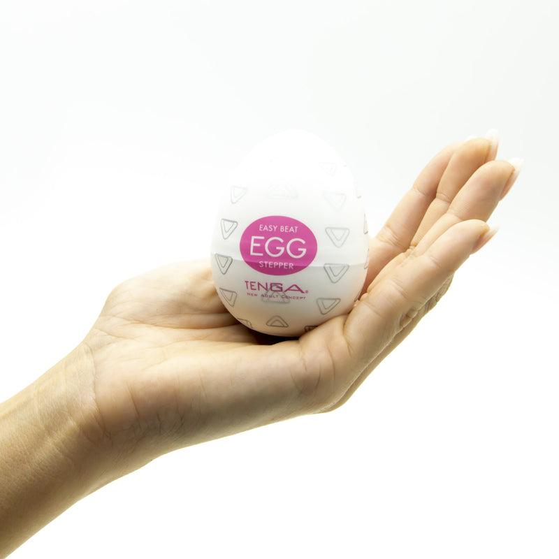 Tenga Stepper Textured Love Egg Masturbator - image 4