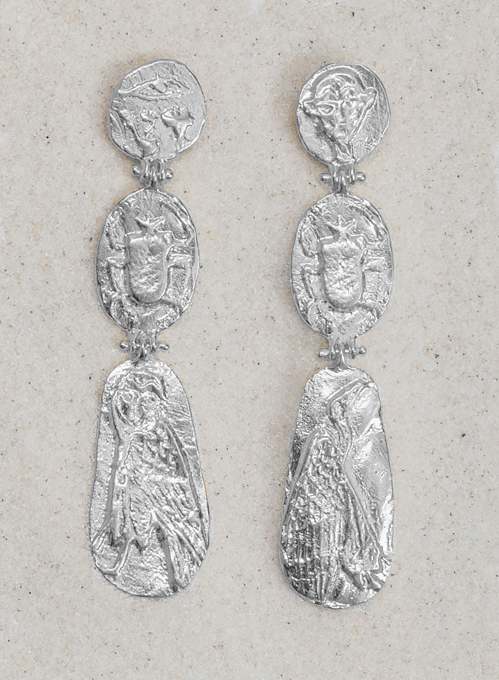 Talisman Trio Dangle Earrings