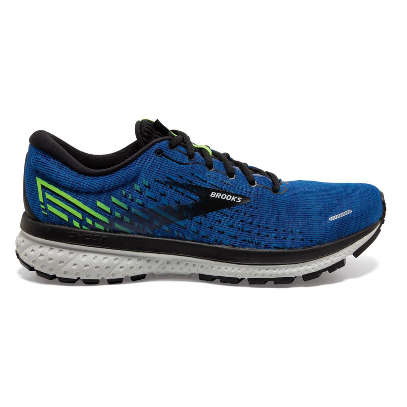 Brooks Ghost 13, Extraweit 2E, Herren, peacoat/indigo/nightlife, blau