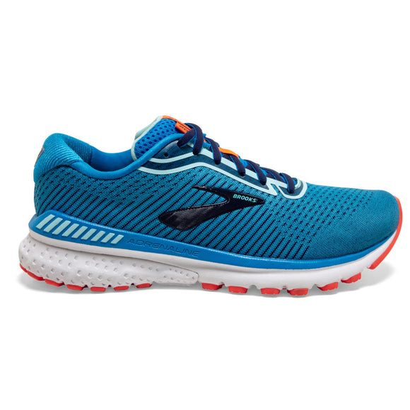 Brooks Adrenaline GTS 20, Damen, blau/coral