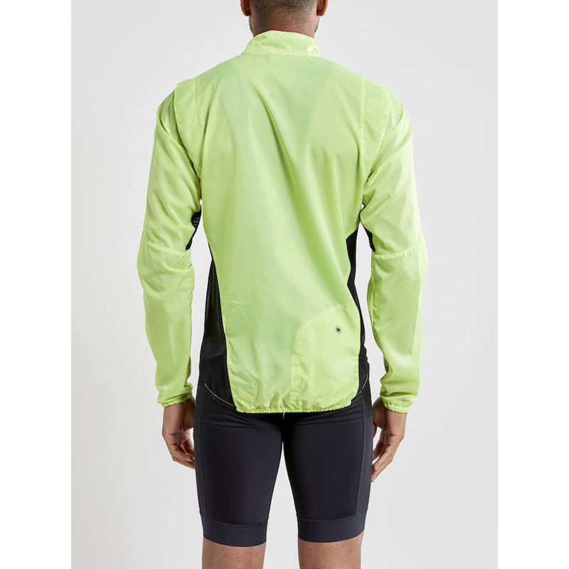 Craft Essence Light Wind Jacket, Herren, hellgrün