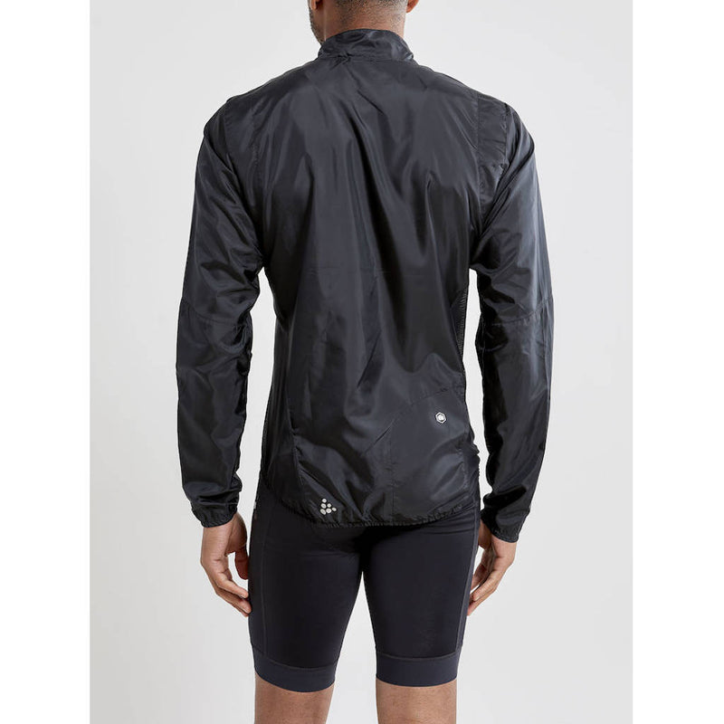 Craft Essence Light Wind Jacket, Herren, schwarz