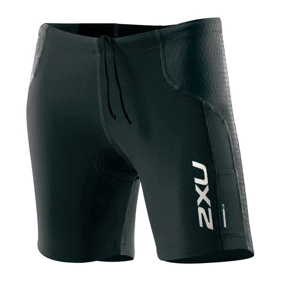 2XU Comp Tri Short + Pockets, Damen, schwarz