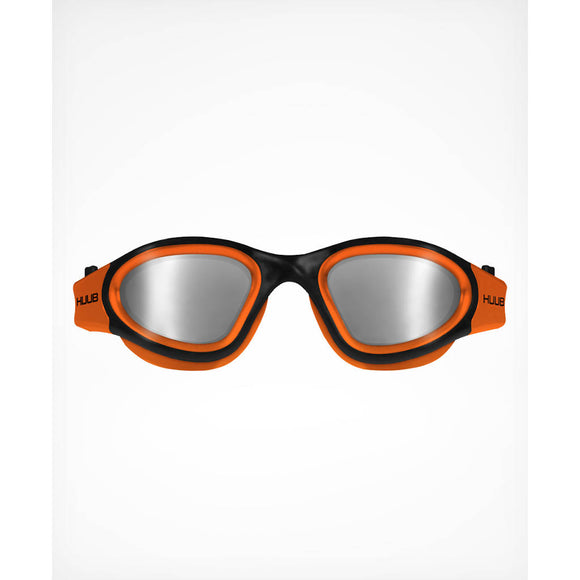 Huub Aphotic Orange Polarized Mirror, getönte Gläser, Schwimmbrille, orange