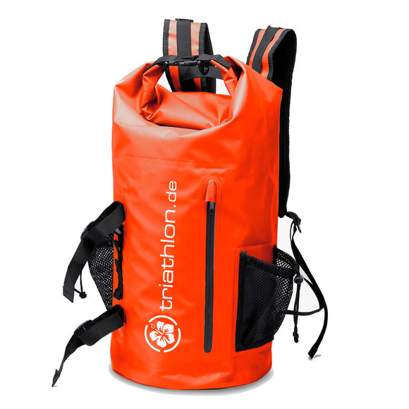 triathlon.de Big Waterproof Backpack, rot