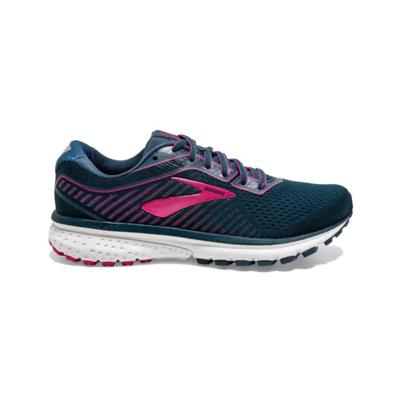 Brooks Ghost 12, Damen, grün/pink