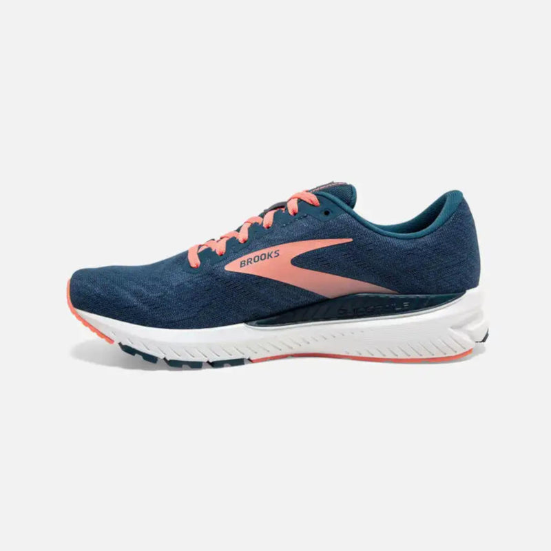 Brooks Ravenna 11, Damen, blau/rose