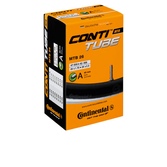 Continental Schlauch MTB 26, 42mm, SV Ventil