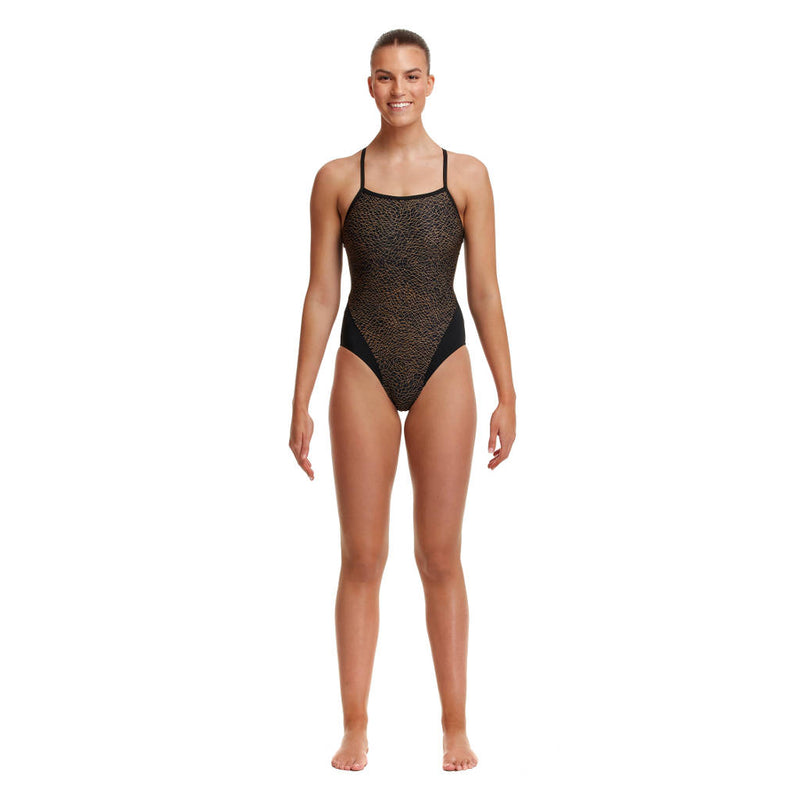Way Funky, Mother Funky, Funkita Ladies Single Strap One Leather Skin, Badeanzug, Damen