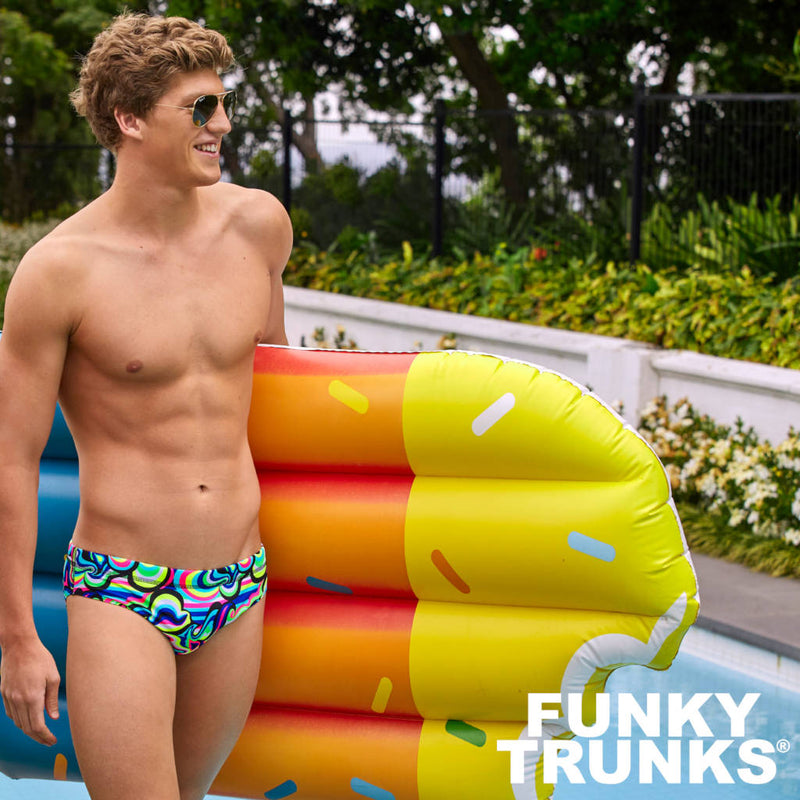 Way Funky, Mother Funky, Funky Trunks Mens Eco Classic Briefs Gelat OMG, Badehose, Herren