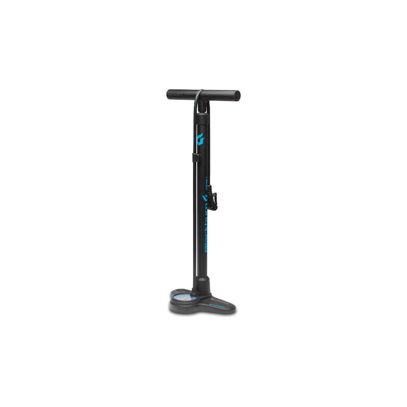 Blackburn Floor Pump Piston 2DH, Standpumpe, schwarz/blau
