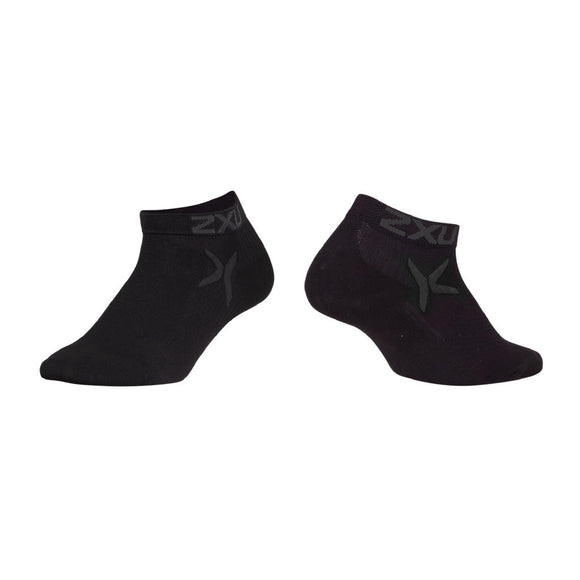 2XU Performance Low Rise Socken, schwarz