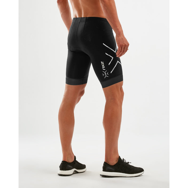 2XU Compression Tri Short, Herren, schwarz